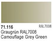 Model Air 116 - Camouflage Grey Green RAL7008 <br>Vallejo71116